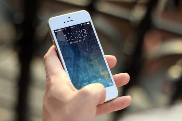changement de téléphone à l'écran d'accueil