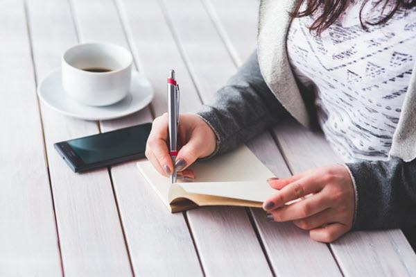 rédiger une liste