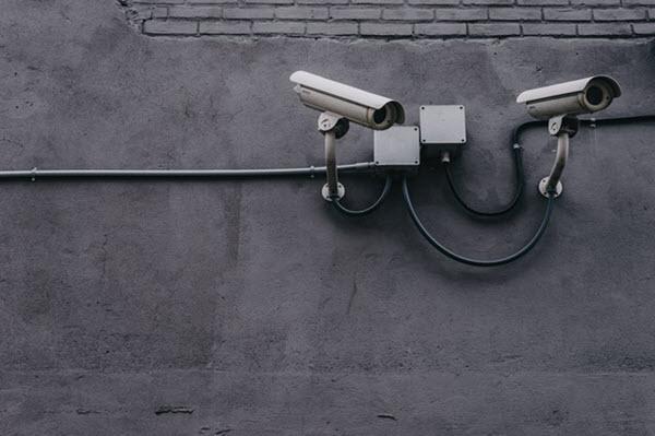 des caméras de sécurité