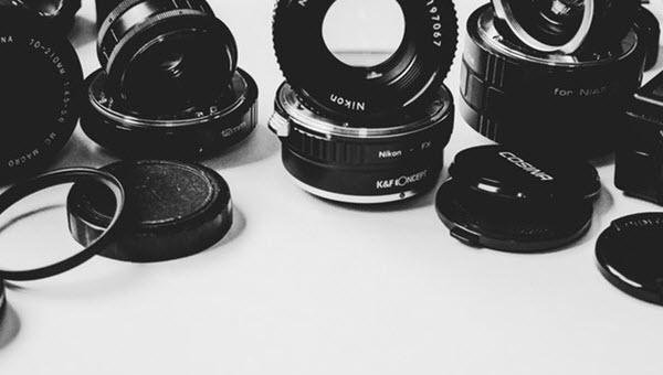 bouchon d'objectif de caméra