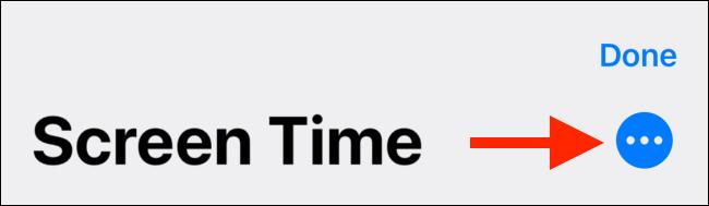 Appuyez sur le bouton Menu depuis l'écran d'édition des raccourcis