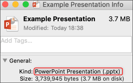 Nachweis der erfolgreichen Dateikonvertierung