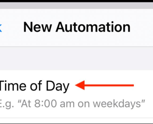Appuyez sur Créer une automatisation personnelle