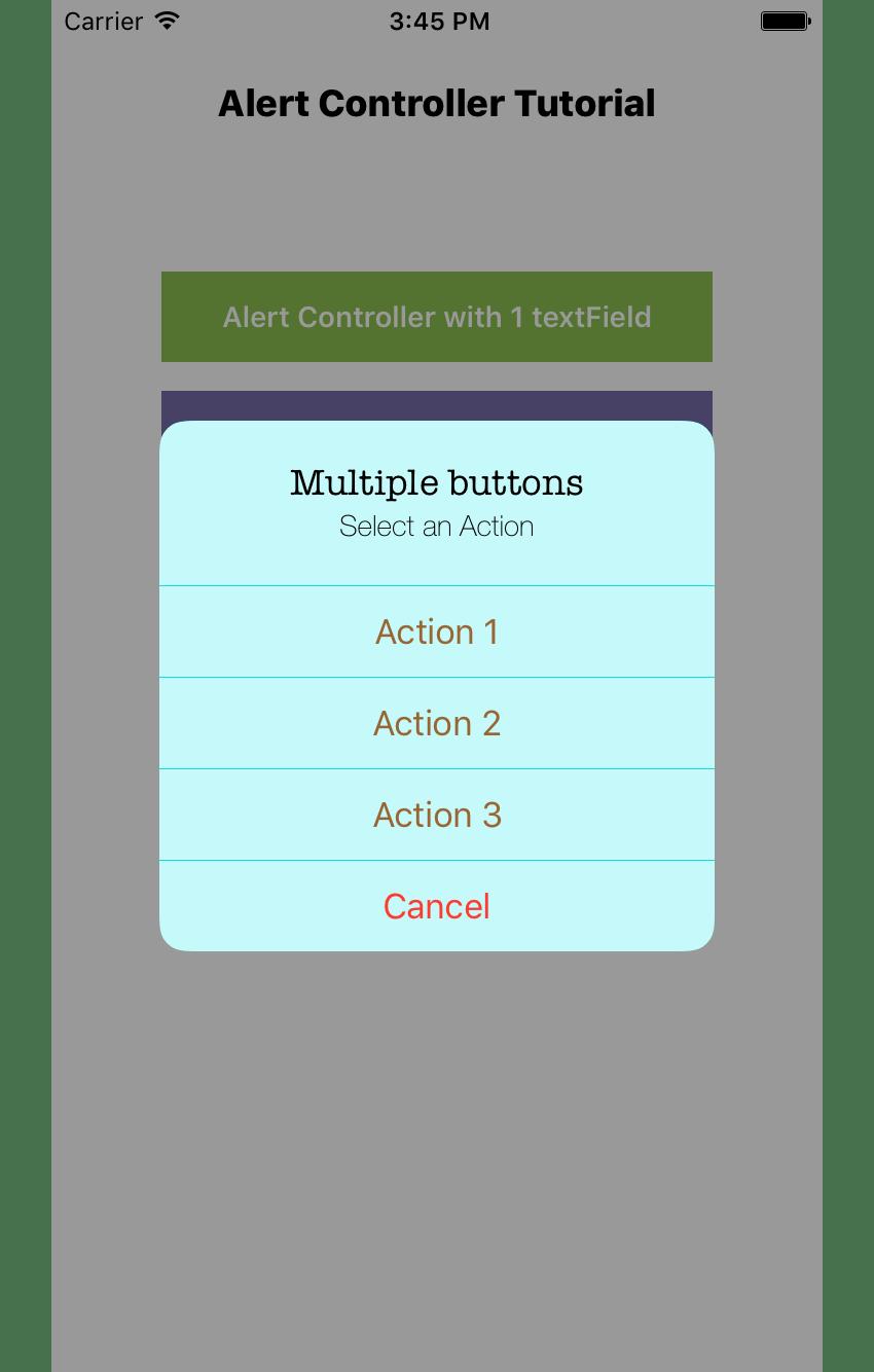 Contrôleur d'alerte avec 4 boutons