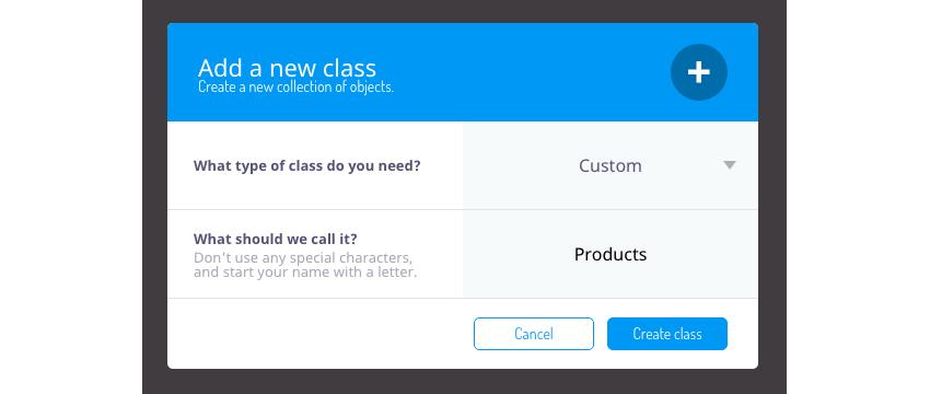 Créer une nouvelle classe personnalisée