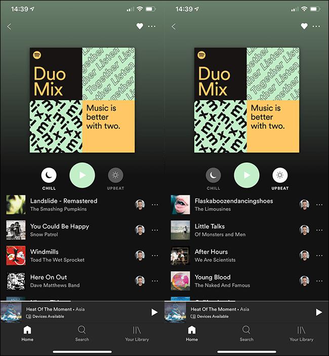 mélange duo