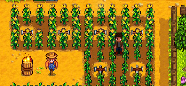 Agriculture par aspersion de Stardew Valley