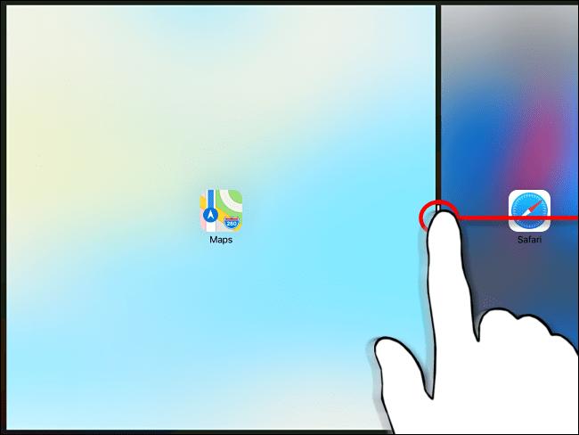 Ignorer la vue fractionnée sur iPad Étape 2