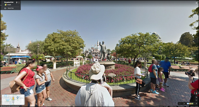 Virtuelle Tour durch Disney World auf Google Maps