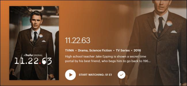 Hulu Original «11.22.63».