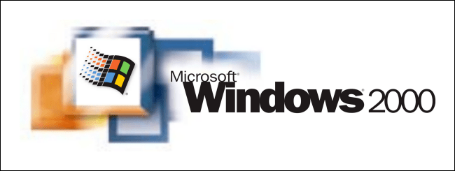 Logo Windows 2000.