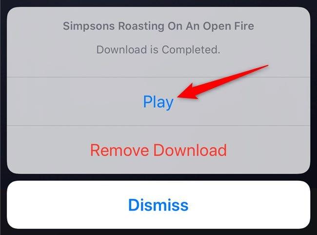 Aplicación Disney + Presiona el botón de reproducción