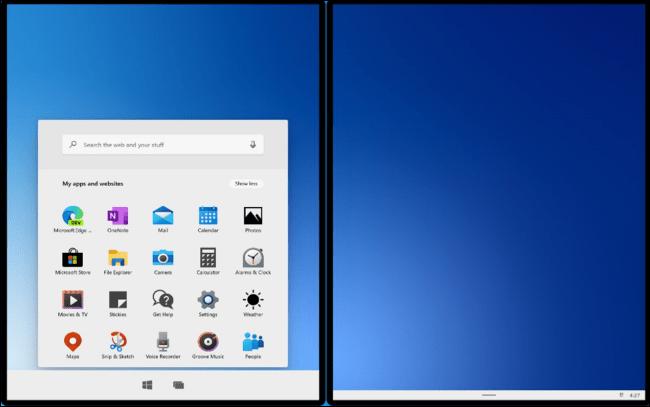 Windows 10X en el nuevo emulador de Microsoft