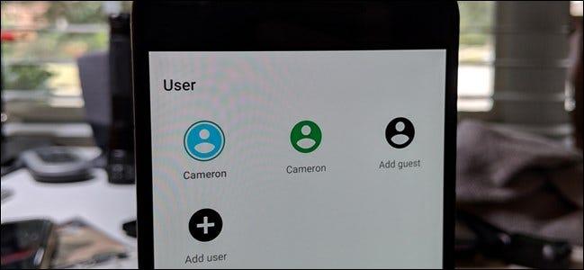 Mehrere Benutzerkonten auf einem Android-Telefon