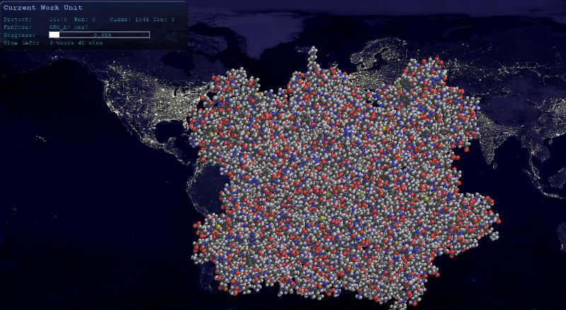 Simulation de pliage