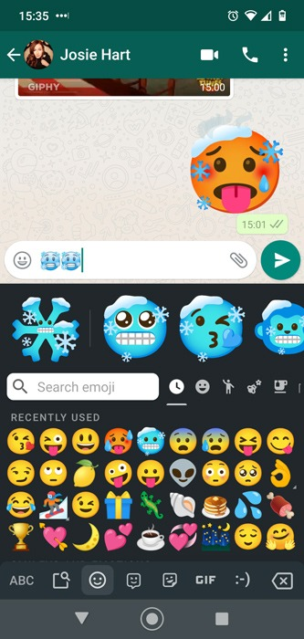 Combos Android Emoji Gboard Icycle