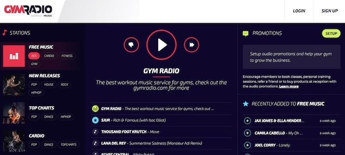 Stations de radio Web utiles Gymradio