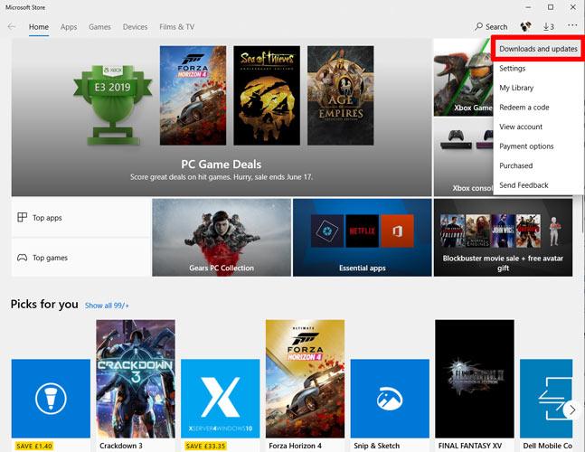 L'application Photos ne fonctionne pas Windows 10 Microsoft Store 1