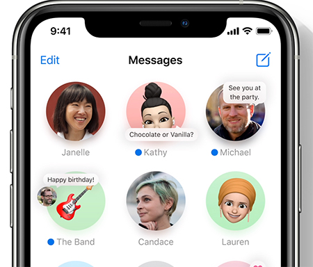 Messages iOS 14