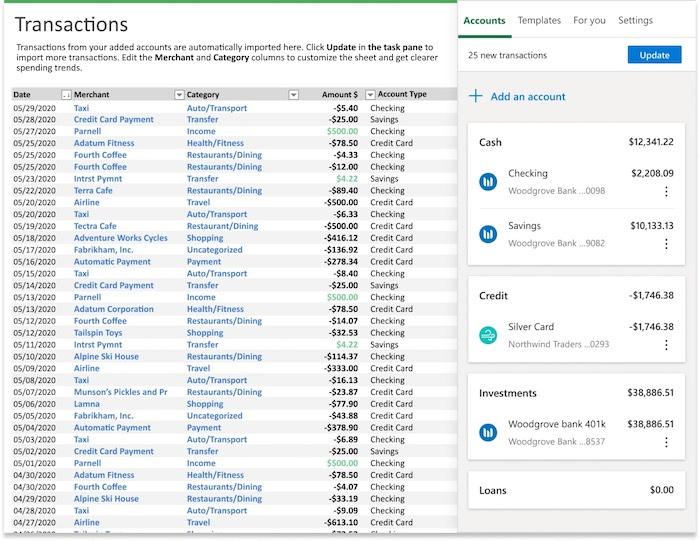 Qu'est-ce que Microsoft 365 Microsoft Money dans Excel