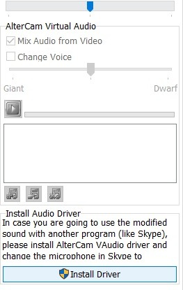 Altercam Virtuel Audio 1