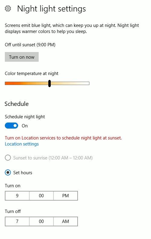 windows-configurer-veilleuse