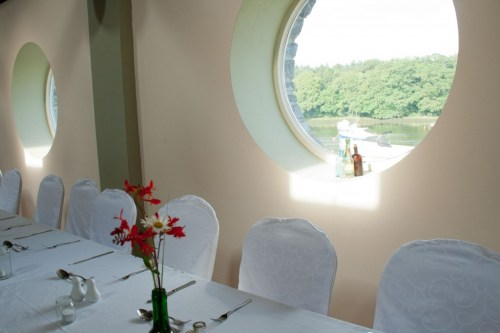 The Kennedy Glasgow Centre ready for a wedding celebration - venue hire in Ballina