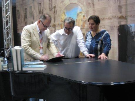 Edoardo Catemario, Anna Trombetta e Luca Bianchini alla Fiera Cremona Musica, la numero 1 al mondo