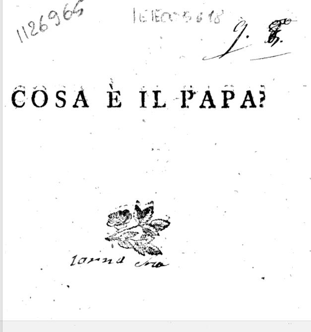 libro proibito del De Bassus