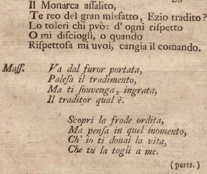 K 21 - libretto - Va dal furor portata - Leopold Mozart