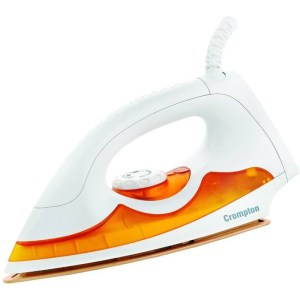 Crompton ACGEI-PD Plus Dry Iron (Orange, White)