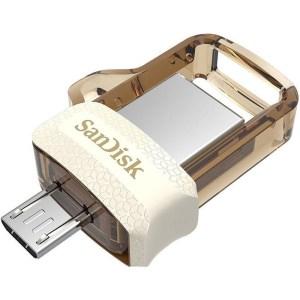 SANDISK 64GB OTG PENDRIVE GOLD