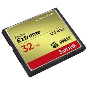 SanDisk Extreme 32GB CompactFlash 120MB
