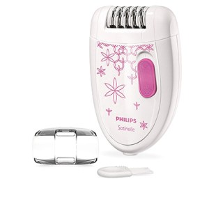 Philips Satinelle Essential BRE200 Corded Epilator (Pink, White)