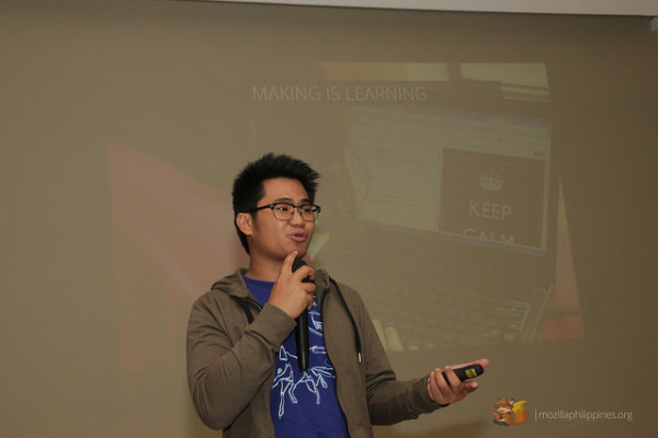 Ryan Ermita talking about the Webmaker project