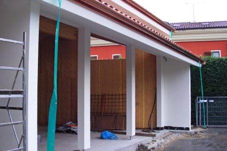 Cherasco, Cuneo ultimazione del tetto in Legno BBS