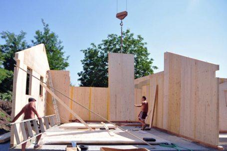 beinette casa privata in legno bbs - inizio cantiere