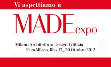 Fiera internazionale MadeExpo 2012 a Rho, Milano