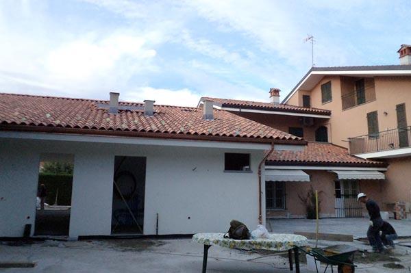 Cherasco, Cuneo ampliamento e autorimessa in legno BBS