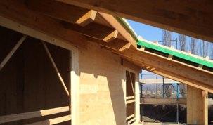 tetto cherasco cuneo villa bifamiliare legno bbs