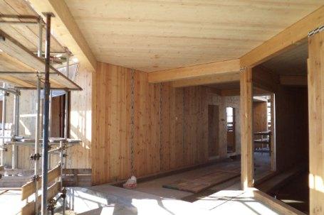 Condominio in legno 5 piani con pannelli fotovoltaici a Piossasco
