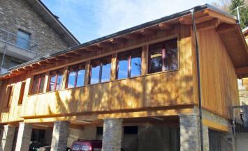 Sopraelevazione in legno di una residenza per anziani