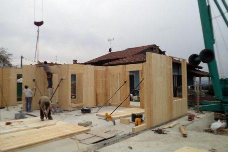 Appartamenti in legno-BBS (x-lam) a Barolo, Cuneo