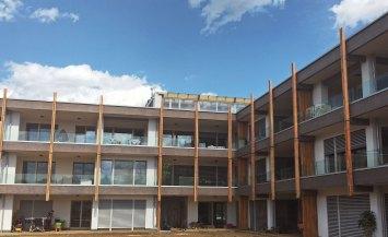 Complesso residenziale in legno, il co-housing a Vimercate, Lombardia