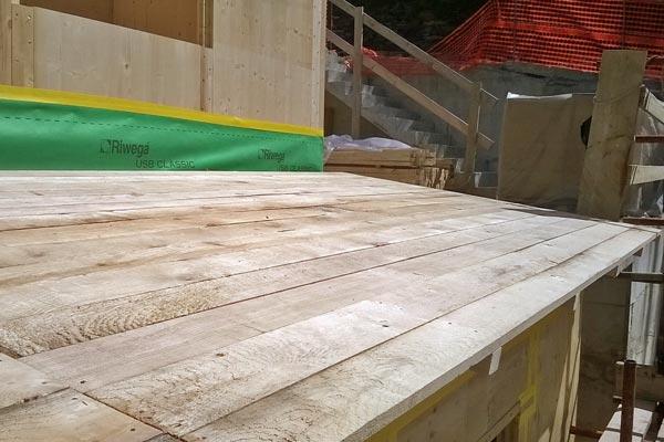 Costruzione casa in legno bbs in Liguria - Cogorno 09