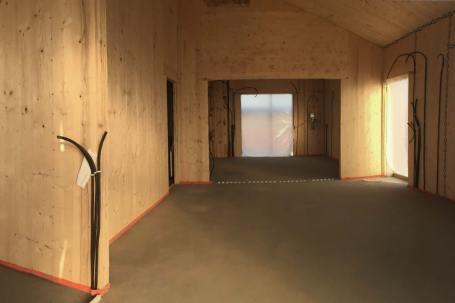 Cantiere Villletta in legno x-lam BBS a 1 piano - Corana, Pavia - 05