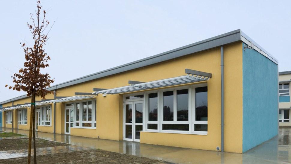 Scuola antisismica in legno x lam bbs Vigarano Mainarda Ferrara 10 esterno