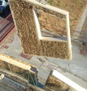 Case in paglia - sopraelevazione in legno e paglia ad Arona - Cantiere 04