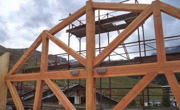 Hotel in legno Aux Pieds Du Roi – Cervinia