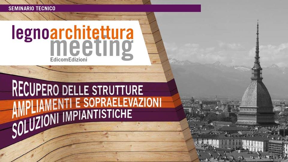 Legnoarchitettura Meeting a Torino - immagine del convegno